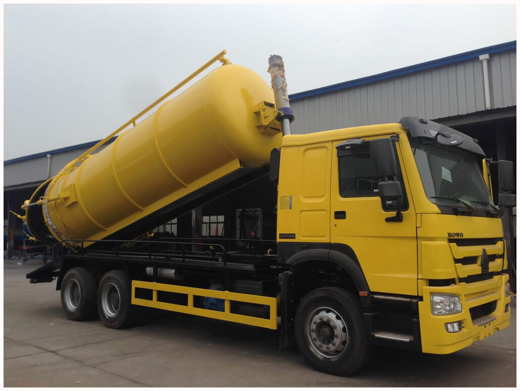 HOWO Suction Sewage Truck