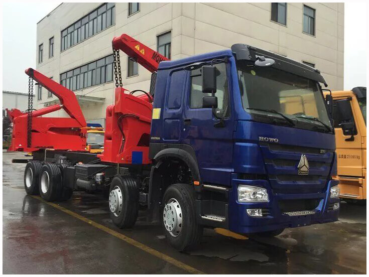 HOWO Side Loader Truck