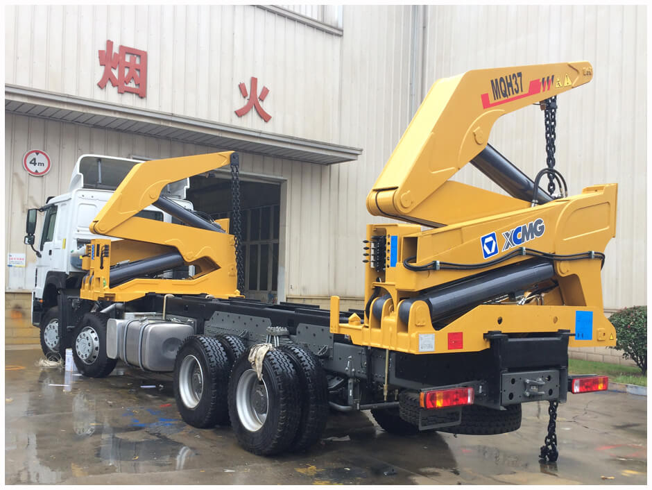 SINOTRUK SIDE LOADER TRUCK