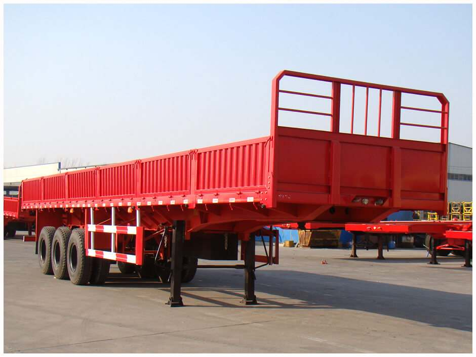 Sidewall Semi Trailer