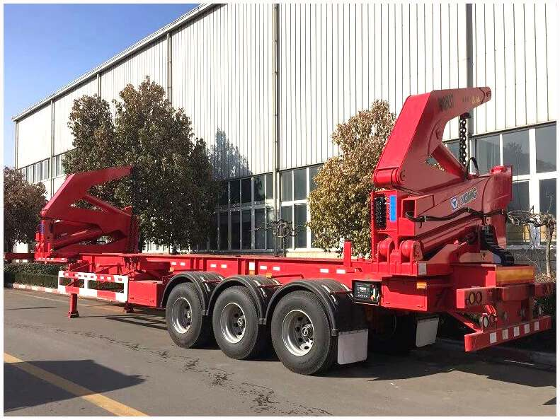 Side Loader Semi Trailer